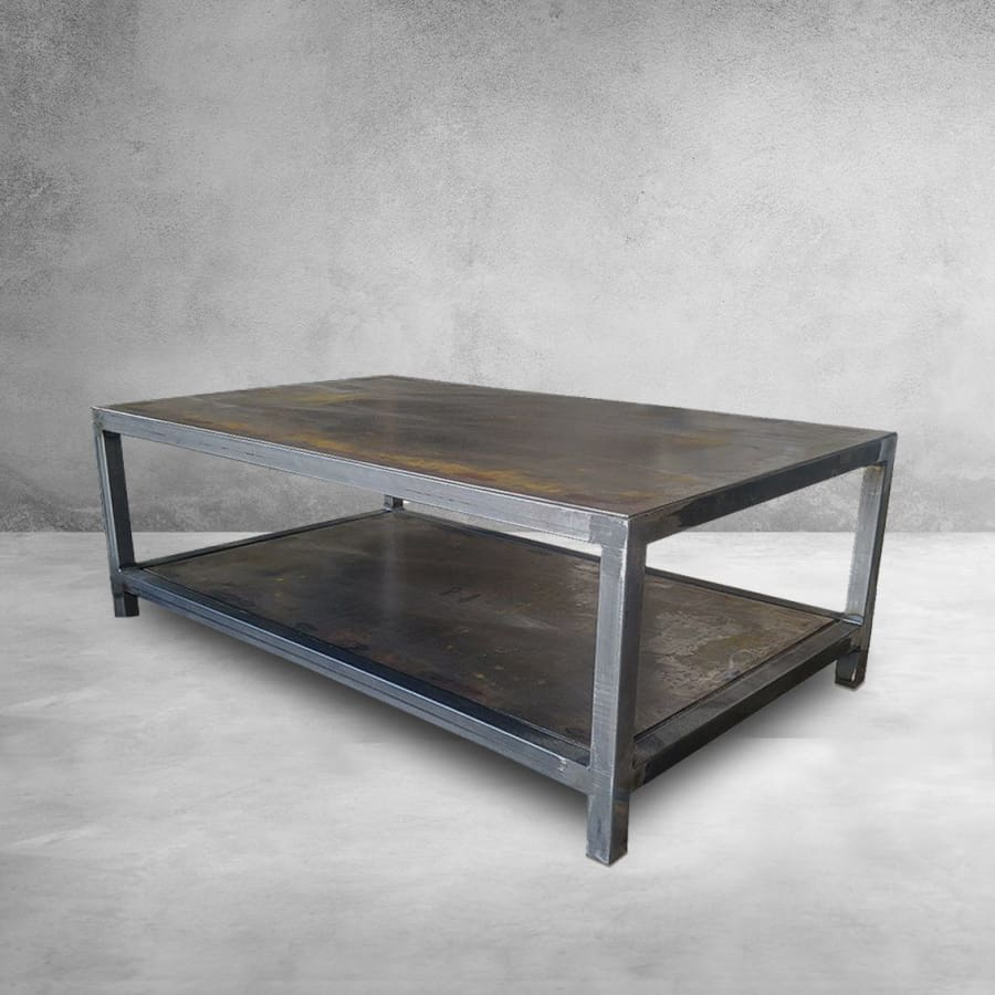 Pleasing Welded Steel Two Tier Coffee Table Free Shipping Lamtechconsult Wood Chair Design Ideas Lamtechconsultcom
