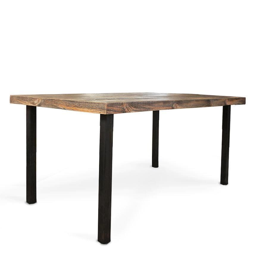 Reclaimed Wood Dining Table - Free Shipping - Dining Table And Bench