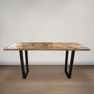 Reclaimed Wood Dining Table - Free Shipping - Reclaimed Wood Furniture