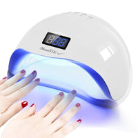48W UV LED Low Heat Gel Nailpolish Drying Lamp for Nail Salons and Home Use