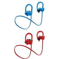 Sound Aura Wireless In-Ear Headphones with Silicone Hook  Built-In Mic
