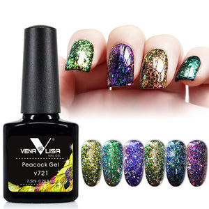 Peacock Gel Polish- Venalisa