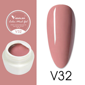 V32 Color Mud Gel Painting Gel