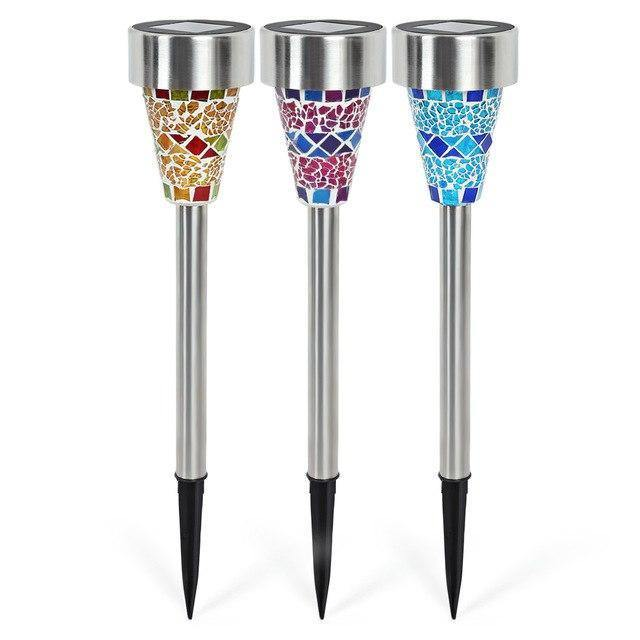 Multicolor Mosaic Decorative Lights - Garden Lights Direct