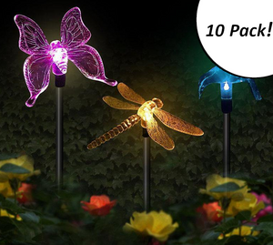 Butterfly, Bird, or Dragonfly LED Stake Light