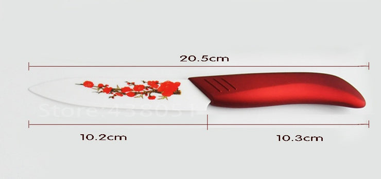 New Ceramic knife, 6pcs Gift Set 3 inch+4 inch+5 inch+6 inch+peeler +Knife
