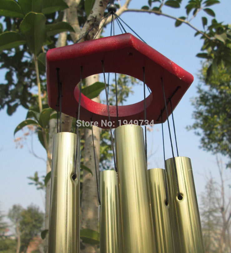 1PCS 6 Tubes Copper Chapel Church Wind Chime