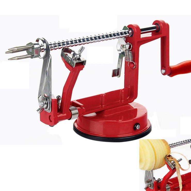 3 in 1 Apple Pear Potato Peeler Corer Slicer Safe Fruit Coring Kitchen Dicer