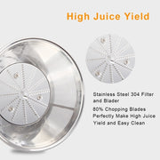 600W Electric Lemon Orange Juicers Machine Stainless Steel Fruit