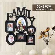 2020 New Photo Frame Wall Hanging 6 Pictures Holder Memories Display Family House Decor