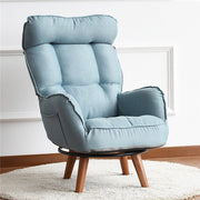 Contemporary Swivel Accent Arm Chair Living Room Furniture Reclining Folding Armchair For Elderly