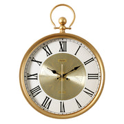 Nordic Luxury Wall Clock Metal Creative Gold Clock Mechanism