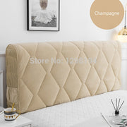 Thicken Headboard Cover Soft Bed Back Cushion Cover All-inclusive Headboard