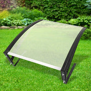 Canopy Sun Shelter Awning Garage Roof Robot Lawn Mower portable Black Silver