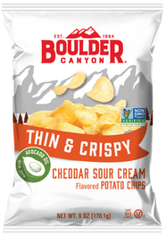 Thin & Crispy Cheddar & Sour Cream Image