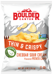 Thin & Crispy Cheddar & Sour Cream