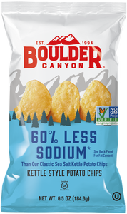 Boulder Canyon 60% Less Sodium
