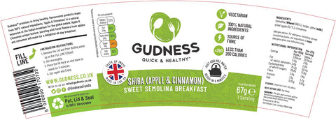 Shira Apple & Cinnamon Nutritional and Ingredients info