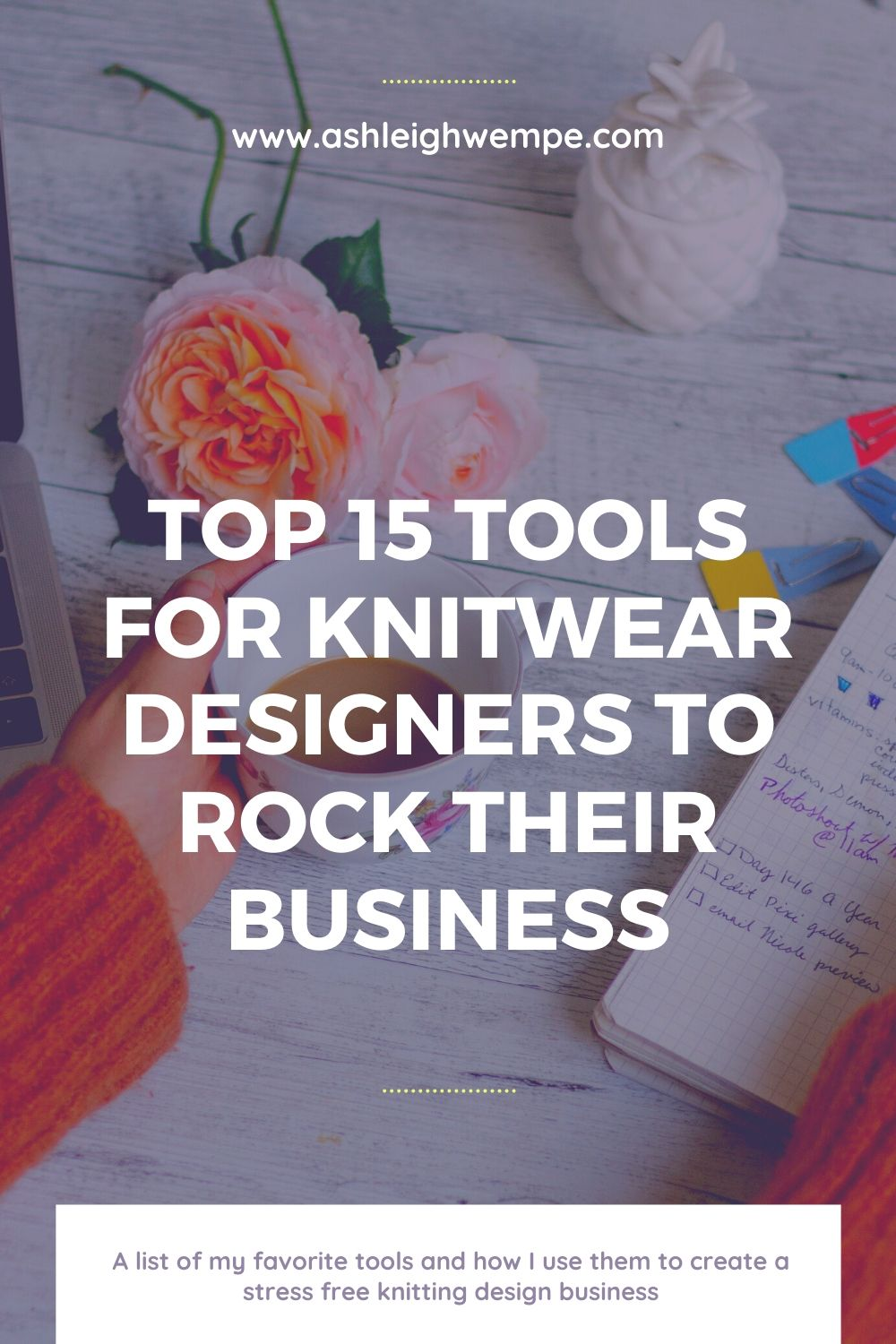 Essential Tools for Knitting Pattern Designers