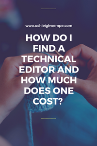I know I need a technical editor, but now what do I do?