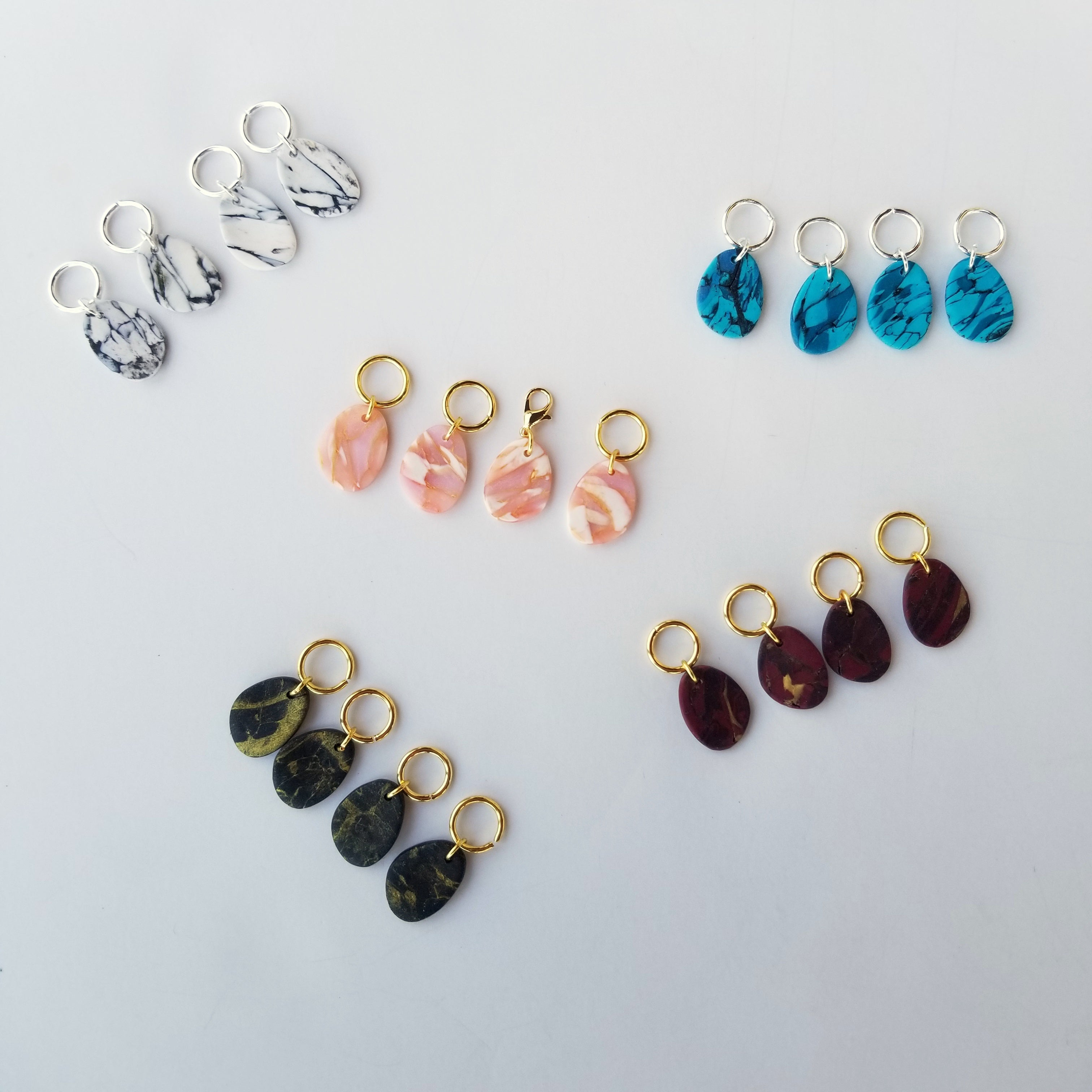Samantha Stitch Markers (Rock Collection)