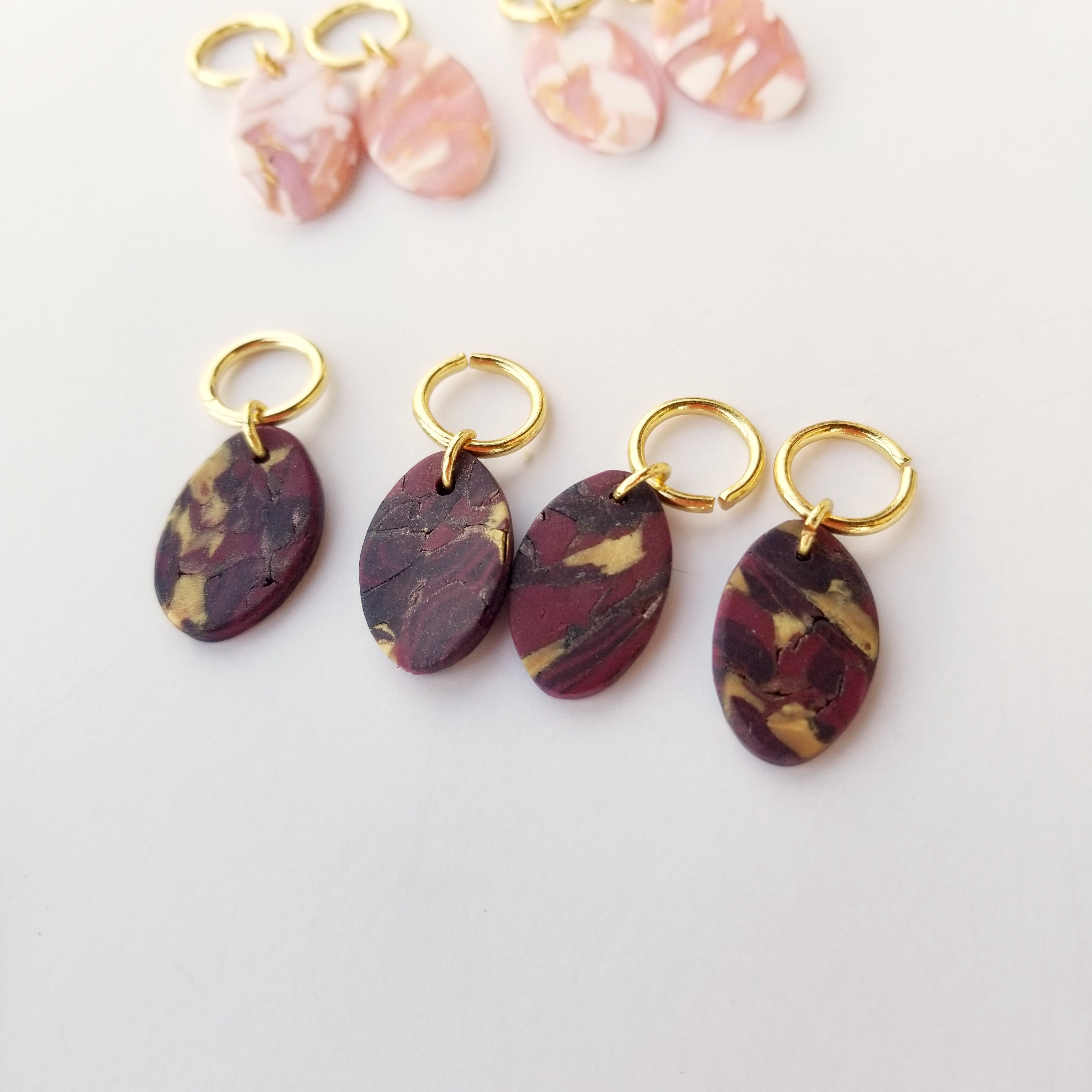 Deb Stitch Markers (Rock Collection)