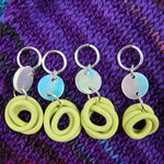Load image into Gallery viewer, Mini Noods Stitch Markers (Mermaid and Key Lime)