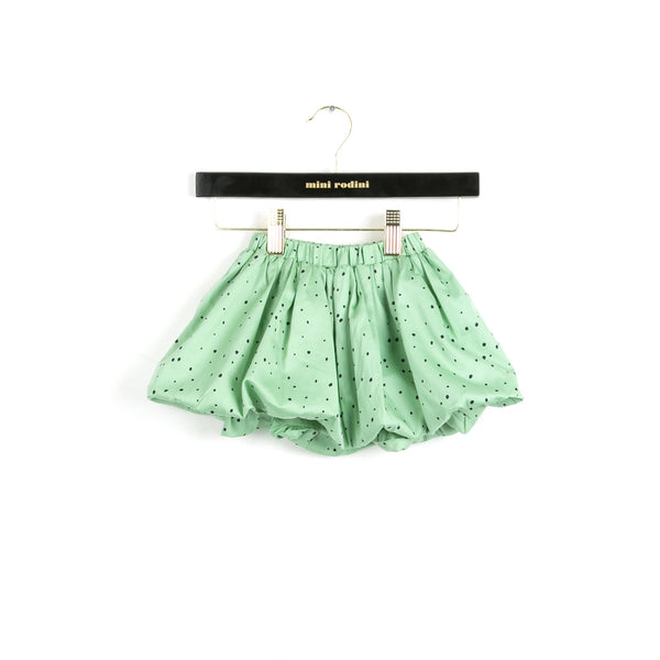 Mini Rodini Dot Skirt Green
