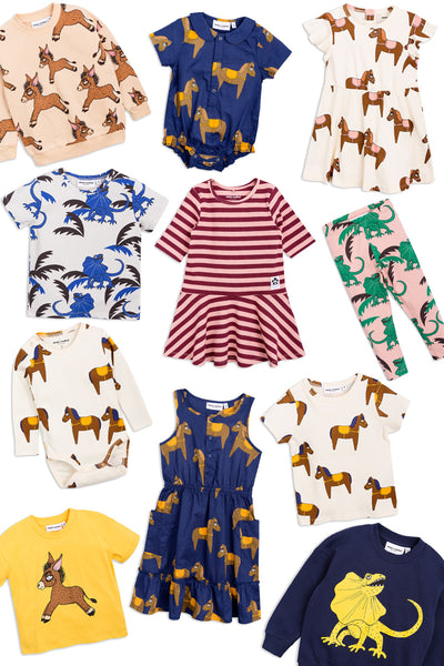 Mini Rodini SS18 Mother Earth at Yellow Dandy Australia