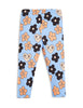 Flowers Leggings - Blue