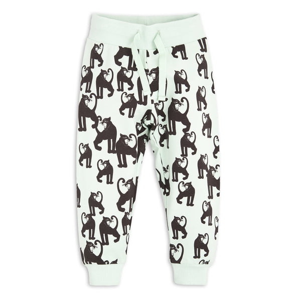 Panther Sweatpants - Light Green