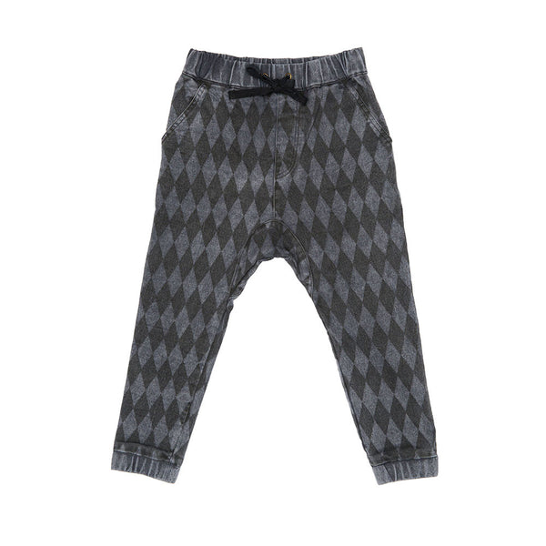 Harlequin Slouch Pants