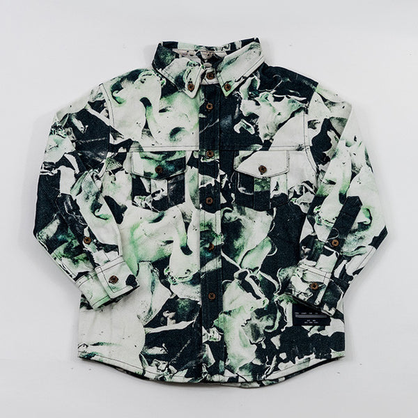 Workshirt - Fungi Emerald - Agatha Cub - 1