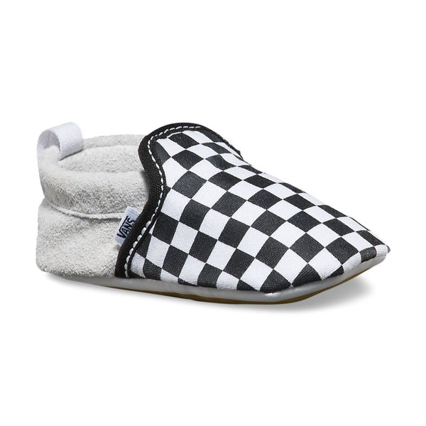 Infant Slip-On Crib Shoe - Checkerboard - Vans - 1