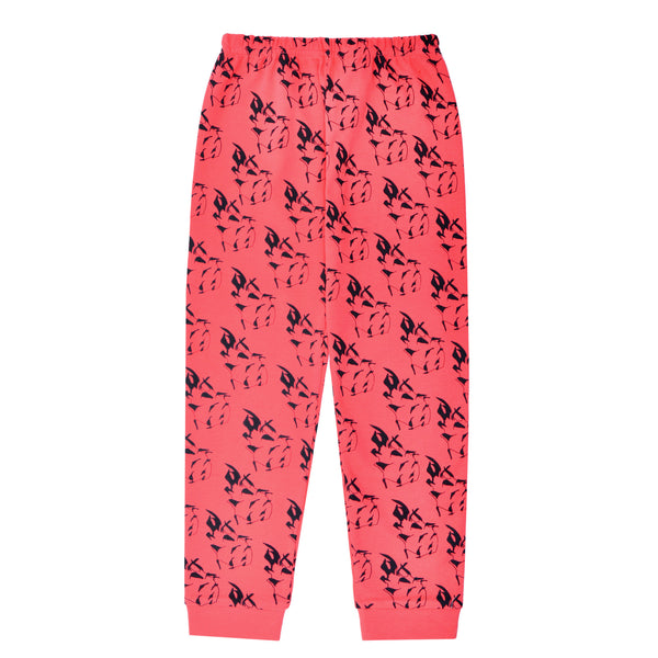 Dragon Fruit Leggings - Red