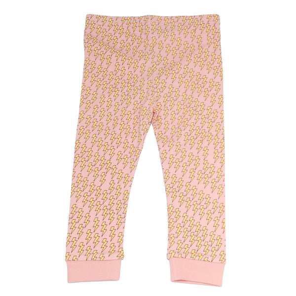 Bolt Leggings - Pink
