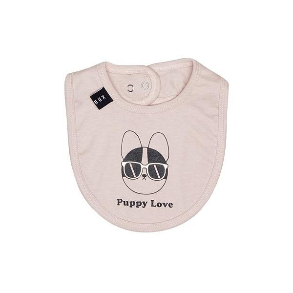 Puppy Love Bib - Pink