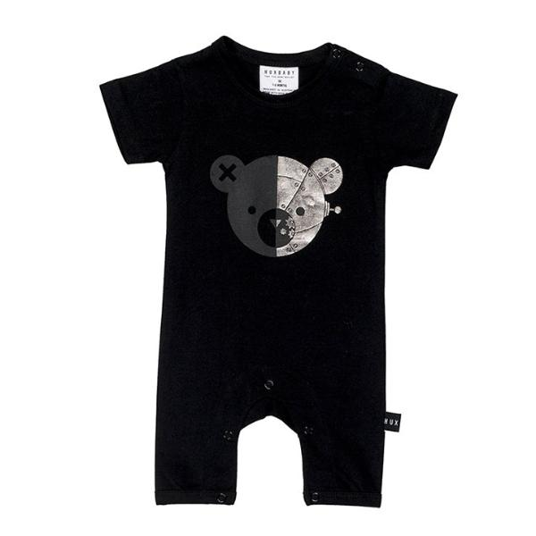 Robo Bear Short Romper