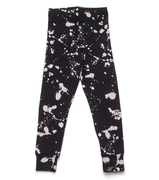 Splash Leggings - Black
