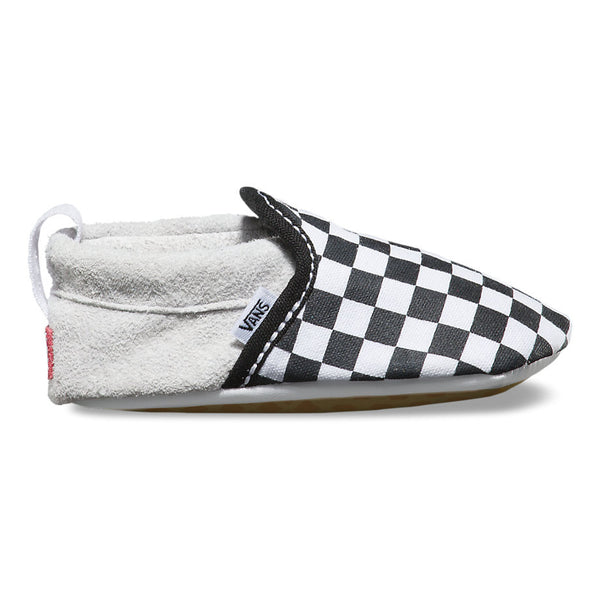 Infant Slip-On Crib Shoe - Checkerboard - Vans - 2