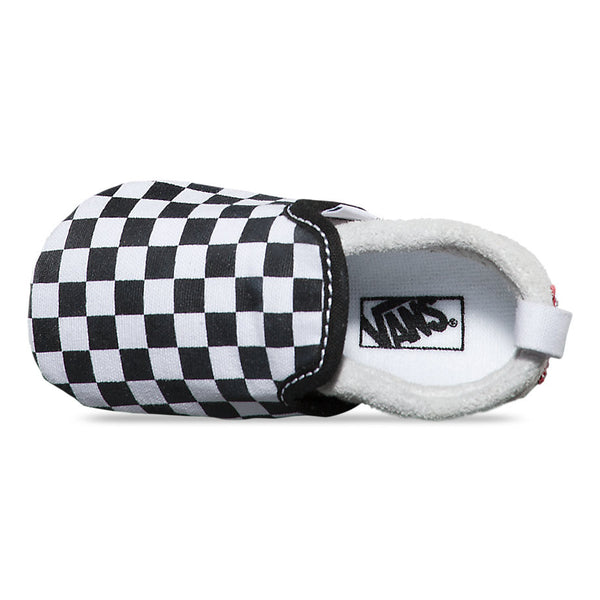 Infant Slip-On Crib Shoe - Checkerboard - Vans - 3