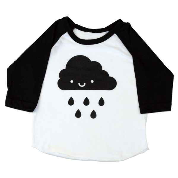 Kawaii Cloud Baseball Tee
