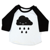Kawaii Cloud Baseball Tee - Whistle & Flute