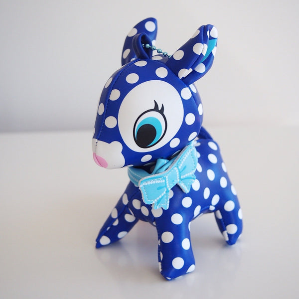 Puchi Babie Deer - Blue with White Spots