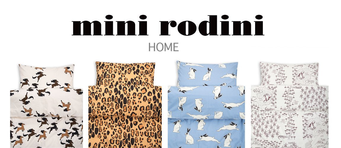 Mini Rodini Home Bedding Collection