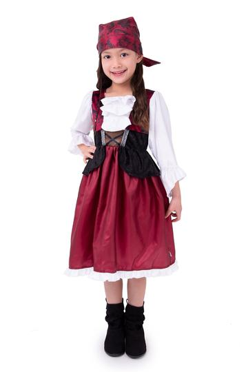 Pirate Dress, with Bandana