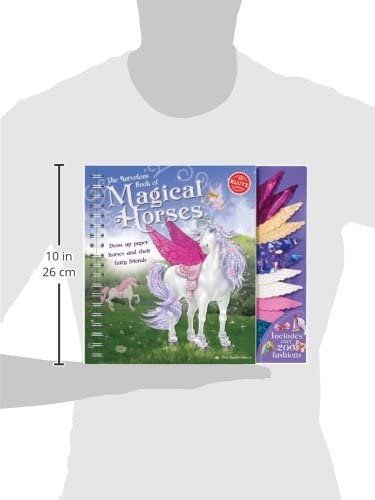 The Marvelous Book of Magical Horses: Dress Up Paper Horses and Their Fairy Friends Activity Book