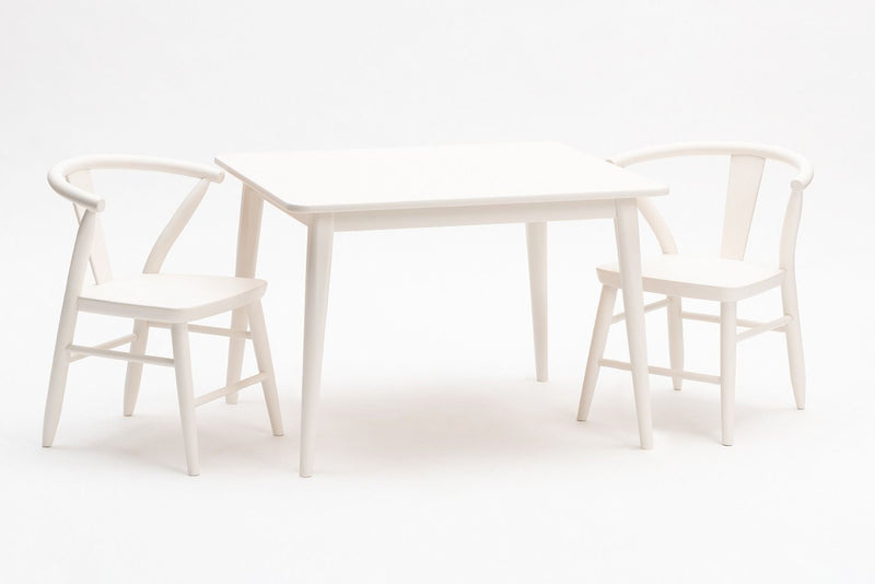 Crescent Table, White
