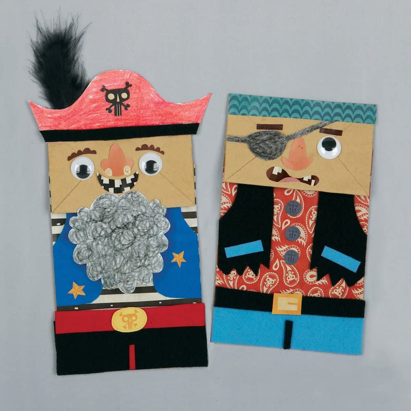 Pirates Paper Bag Craft Kit