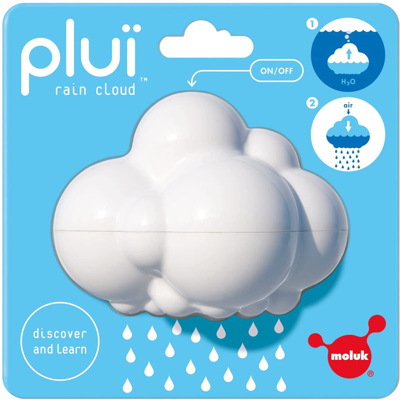 Plui Rain Cloud Tub Toy, by MOLUK